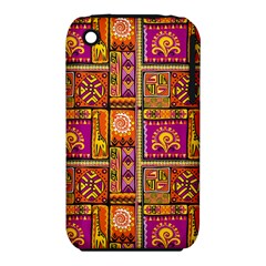 Traditional Africa Border Wallpaper Pattern Colored 3 Iphone 3s/3gs