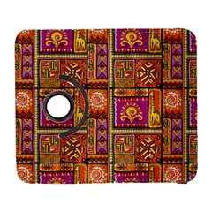 Traditional Africa Border Wallpaper Pattern Colored 3 Samsung Galaxy S  Iii Flip 360 Case