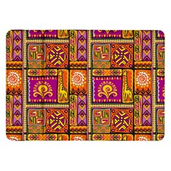 Traditional Africa Border Wallpaper Pattern Colored 3 Samsung Galaxy Tab 8 9  P7300 Flip Case