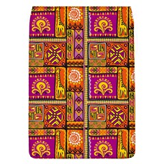 Traditional Africa Border Wallpaper Pattern Colored 3 Flap Covers (l)  by EDDArt
