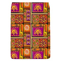 Traditional Africa Border Wallpaper Pattern Colored 3 Flap Covers (s)