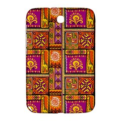 Traditional Africa Border Wallpaper Pattern Colored 3 Samsung Galaxy Note 8 0 N5100 Hardshell Case