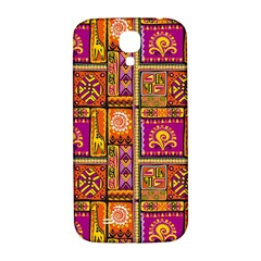 Traditional Africa Border Wallpaper Pattern Colored 3 Samsung Galaxy S4 I9500/i9505  Hardshell Back Case
