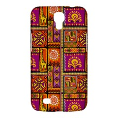 Traditional Africa Border Wallpaper Pattern Colored 3 Samsung Galaxy Mega 6 3  I9200 Hardshell Case