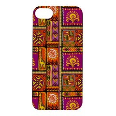 Traditional Africa Border Wallpaper Pattern Colored 3 Apple Iphone 5s/ Se Hardshell Case