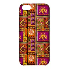 Traditional Africa Border Wallpaper Pattern Colored 3 Apple Iphone 5c Hardshell Case