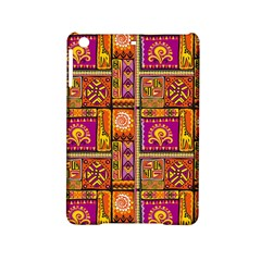 Traditional Africa Border Wallpaper Pattern Colored 3 Ipad Mini 2 Hardshell Cases