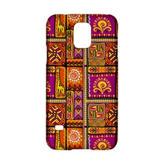 Traditional Africa Border Wallpaper Pattern Colored 3 Samsung Galaxy S5 Hardshell Case
