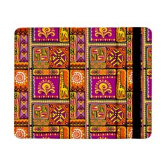 Traditional Africa Border Wallpaper Pattern Colored 3 Samsung Galaxy Tab Pro 8 4  Flip Case
