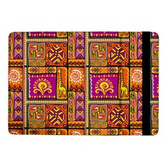 Traditional Africa Border Wallpaper Pattern Colored 3 Samsung Galaxy Tab Pro 10 1  Flip Case