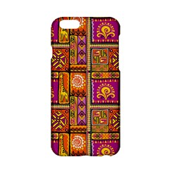 Traditional Africa Border Wallpaper Pattern Colored 3 Apple Iphone 6/6s Hardshell Case