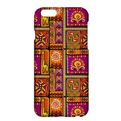 Traditional Africa Border Wallpaper Pattern Colored 3 Apple Iphone 6 Plus/6s Plus Hardshell Case