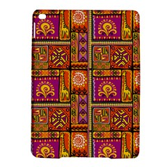 Traditional Africa Border Wallpaper Pattern Colored 3 Ipad Air 2 Hardshell Cases