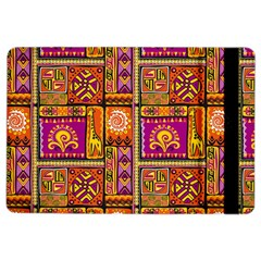 Traditional Africa Border Wallpaper Pattern Colored 3 Ipad Air 2 Flip