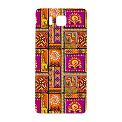 Traditional Africa Border Wallpaper Pattern Colored 3 Samsung Galaxy Alpha Hardshell Back Case