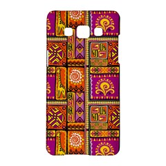 Traditional Africa Border Wallpaper Pattern Colored 3 Samsung Galaxy A5 Hardshell Case
