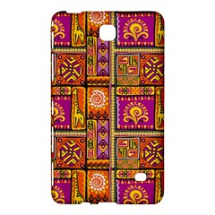 Traditional Africa Border Wallpaper Pattern Colored 3 Samsung Galaxy Tab 4 (7 ) Hardshell Case