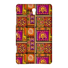 Traditional Africa Border Wallpaper Pattern Colored 3 Samsung Galaxy Tab S (8 4 ) Hardshell Case