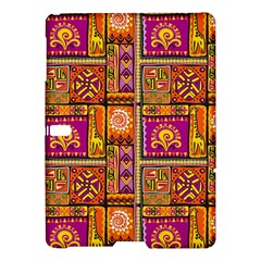 Traditional Africa Border Wallpaper Pattern Colored 3 Samsung Galaxy Tab S (10 5 ) Hardshell Case