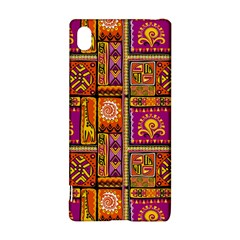 Traditional Africa Border Wallpaper Pattern Colored 3 Sony