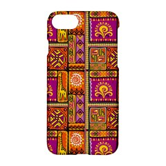 Traditional Africa Border Wallpaper Pattern Colored 3 Apple Iphone 7 Hardshell Case