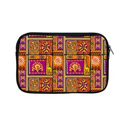 Traditional Africa Border Wallpaper Pattern Colored 3 Apple Macbook Pro 13  Zipper Case