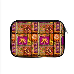 Traditional Africa Border Wallpaper Pattern Colored 3 Apple Macbook Pro 15  Zipper Case