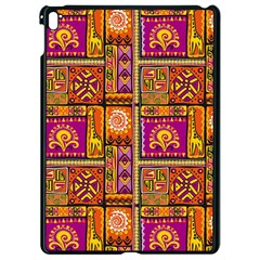 Traditional Africa Border Wallpaper Pattern Colored 3 Apple Ipad Pro 9 7   Black Seamless Case