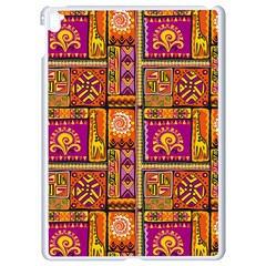 Traditional Africa Border Wallpaper Pattern Colored 3 Apple Ipad Pro 9 7   White Seamless Case
