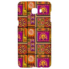 Traditional Africa Border Wallpaper Pattern Colored 3 Samsung C9 Pro Hardshell Case