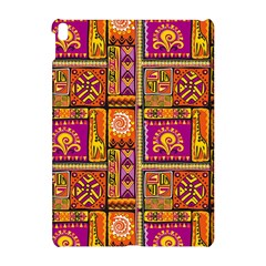 Traditional Africa Border Wallpaper Pattern Colored 3 Apple Ipad Pro 10 5   Hardshell Case