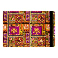 Traditional Africa Border Wallpaper Pattern Colored 3 Apple Ipad Pro 10 5   Flip Case