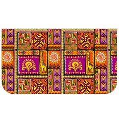 Traditional Africa Border Wallpaper Pattern Colored 3 Lunch Bag