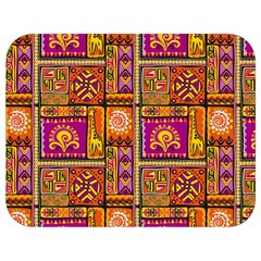 Traditional Africa Border Wallpaper Pattern Colored 3 Full Print Lunch Bag