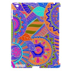 Pop Art Paisley Flowers Ornaments Multicolored 3 Apple Ipad 3/4 Hardshell Case (compatible With Smart Cover)