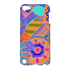 Pop Art Paisley Flowers Ornaments Multicolored 3 Apple Ipod Touch 5 Hardshell Case