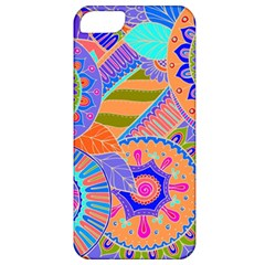 Pop Art Paisley Flowers Ornaments Multicolored 3 Apple Iphone 5 Classic Hardshell Case