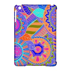 Pop Art Paisley Flowers Ornaments Multicolored 3 Apple Ipad Mini Hardshell Case (compatible With Smart Cover)
