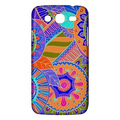 Pop Art Paisley Flowers Ornaments Multicolored 3 Samsung Galaxy Mega 5 8 I9152 Hardshell Case
