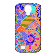 Pop Art Paisley Flowers Ornaments Multicolored 3 Samsung Galaxy S4 Classic Hardshell Case (pc+silicone)