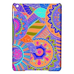 Pop Art Paisley Flowers Ornaments Multicolored 3 Ipad Air Hardshell Cases