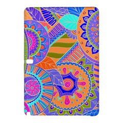 Pop Art Paisley Flowers Ornaments Multicolored 3 Samsung Galaxy Tab Pro 12 2 Hardshell Case