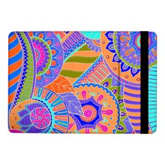 Pop Art Paisley Flowers Ornaments Multicolored 3 Samsung Galaxy Tab Pro 10 1  Flip Case