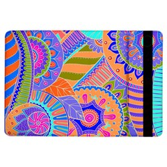 Pop Art Paisley Flowers Ornaments Multicolored 3 Ipad Air Flip