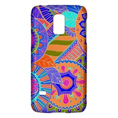Pop Art Paisley Flowers Ornaments Multicolored 3 Samsung Galaxy S5 Mini Hardshell Case