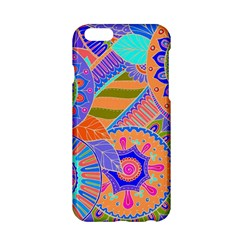 Pop Art Paisley Flowers Ornaments Multicolored 3 Apple Iphone 6/6s Hardshell Case