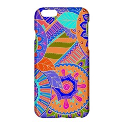 Pop Art Paisley Flowers Ornaments Multicolored 3 Apple Iphone 6 Plus/6s Plus Hardshell Case