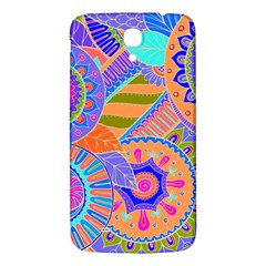 Pop Art Paisley Flowers Ornaments Multicolored 3 Samsung Galaxy Mega I9200 Hardshell Back Case