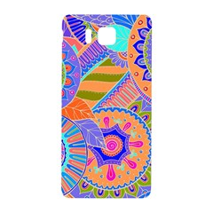 Pop Art Paisley Flowers Ornaments Multicolored 3 Samsung Galaxy Alpha Hardshell Back Case