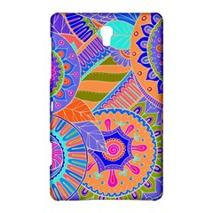 Pop Art Paisley Flowers Ornaments Multicolored 3 Samsung Galaxy Tab S (8 4 ) Hardshell Case